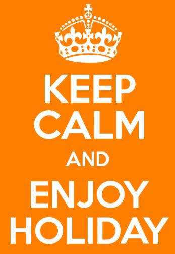keep calm vacanze
