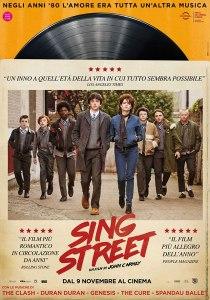 sing street locandina