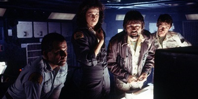 Alien (1979) - Ian Holm, Sigourney Weaver, Tom Skerritt and John Hurt
